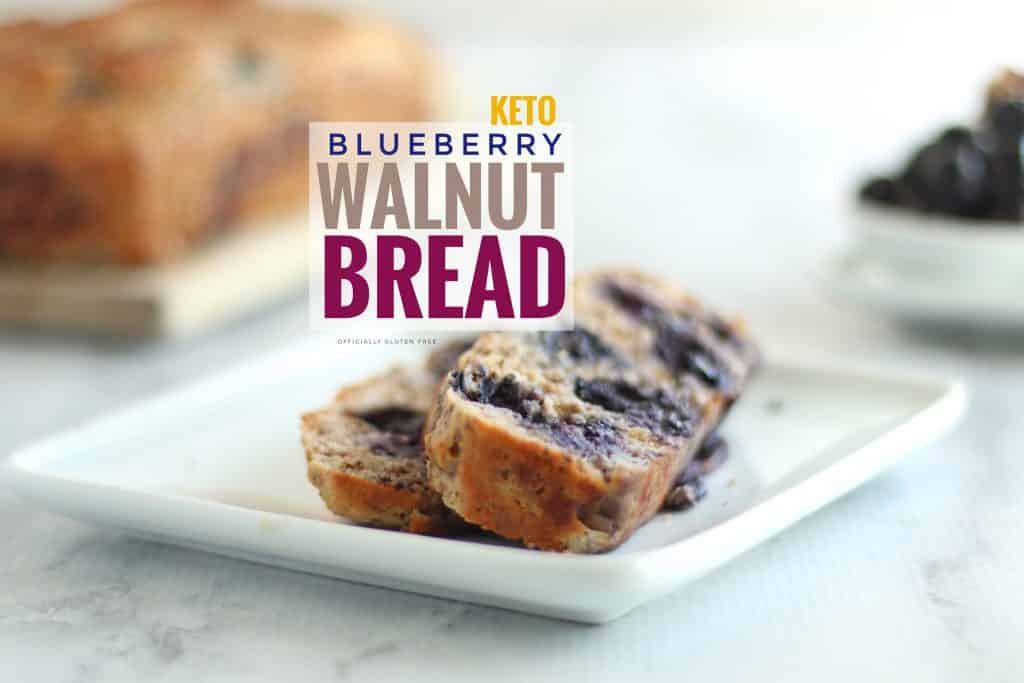Keto Blueberry Walnut Bread