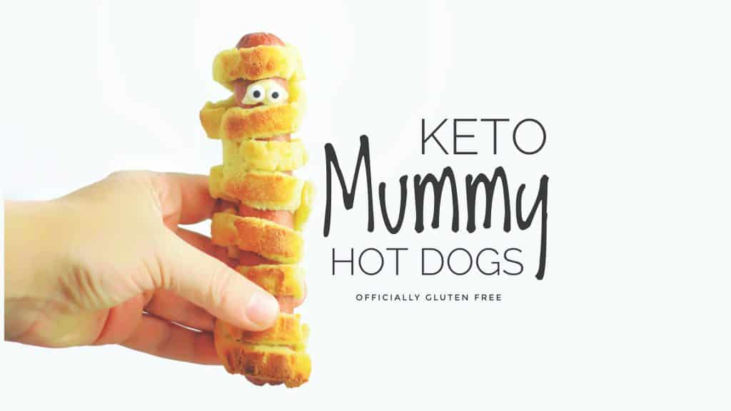 Keto Mummy Hot Dogs