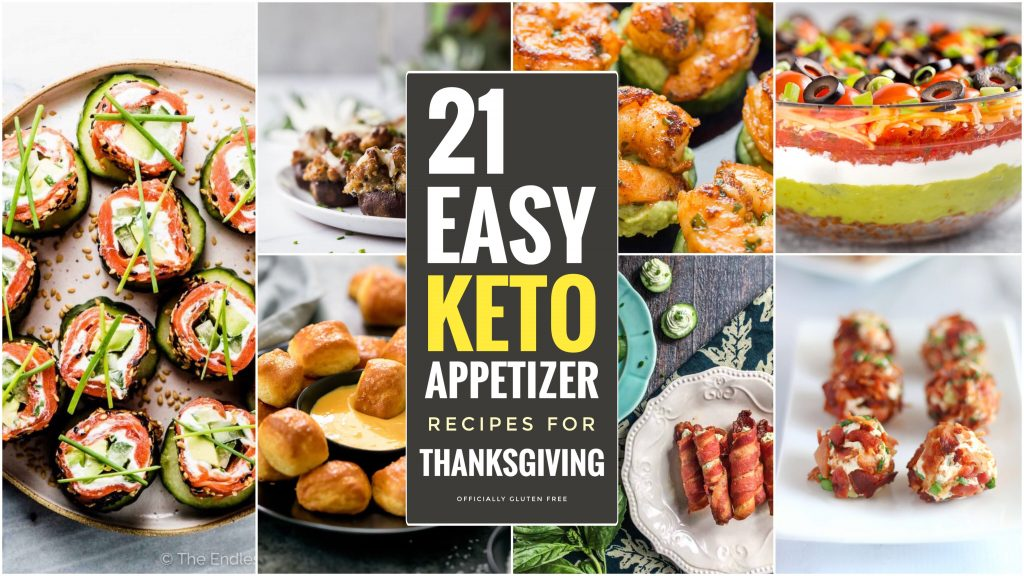 21 Easy Keto Appetizers for Thanksgiving