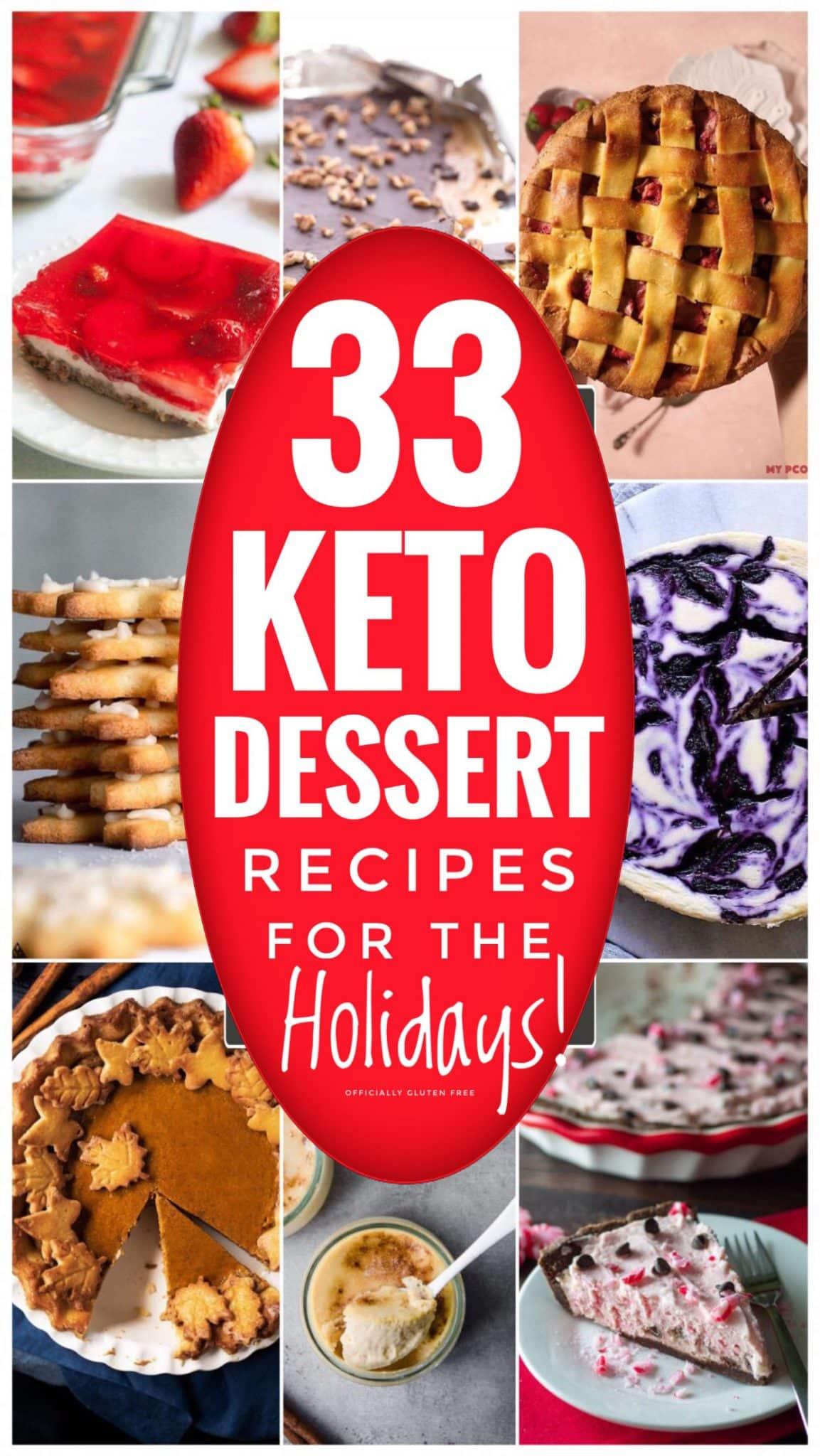 33 Easy Keto Dessert Recipes For The Holidays