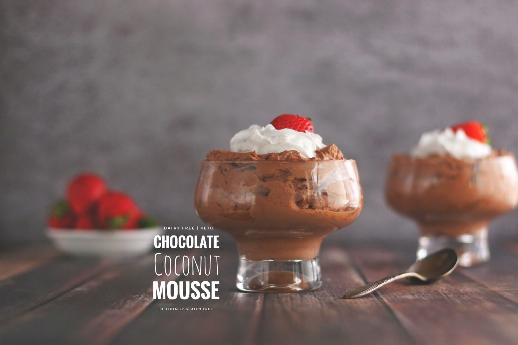Dairy Free Chocolate Coconut Mousse