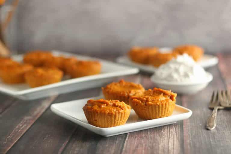 Keto and Dairy Free Mini Pumpkin Pies {No Crust}