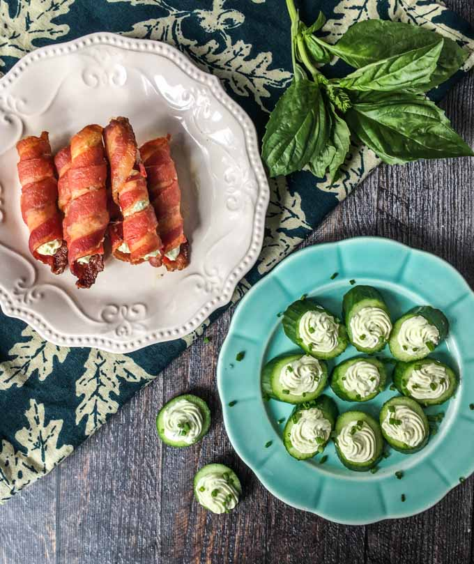 Keto Herb Filled Bacon Rolls