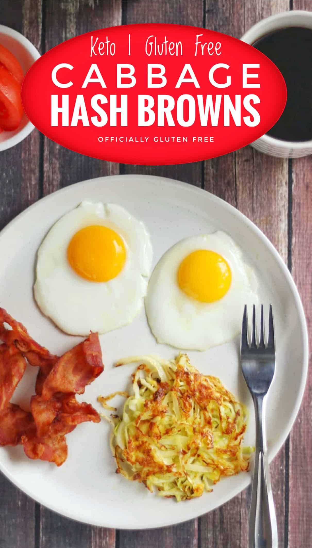 Keto Cabbage Hash Browns
