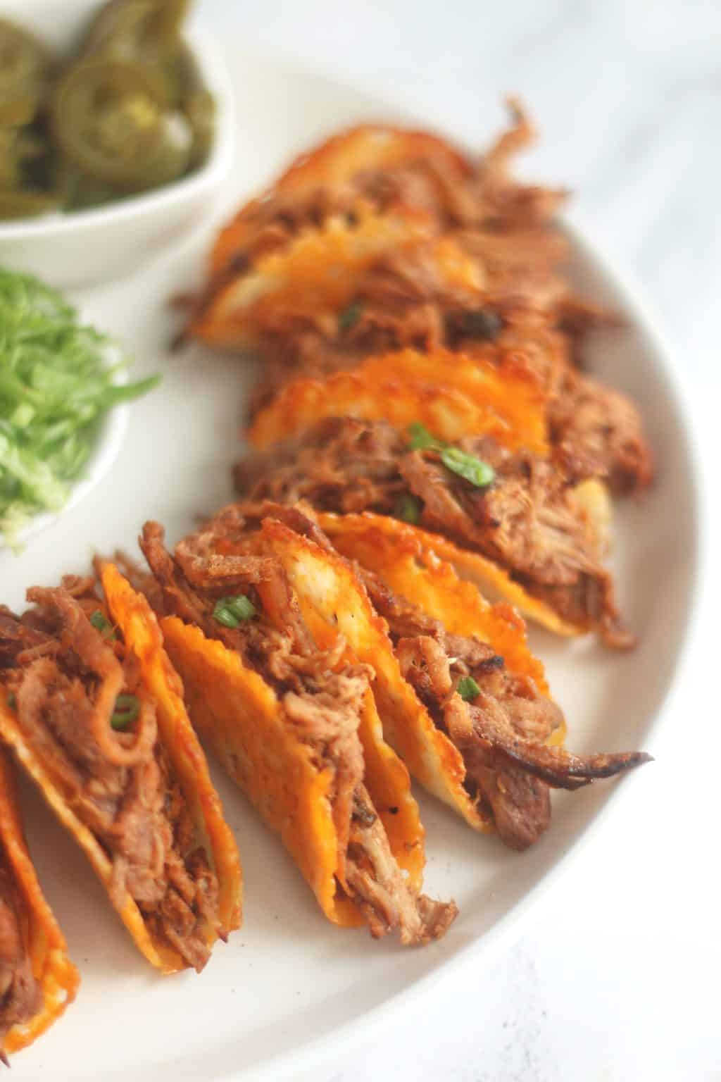 Keto Pulled Pork Tacos