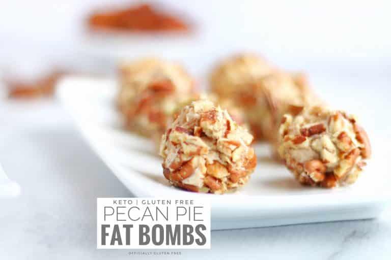 Pecan Pie Fat Bombs