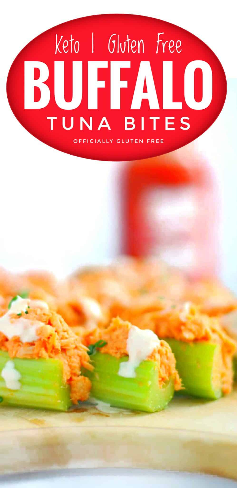 Low Carb Buffalo Tuna Bites