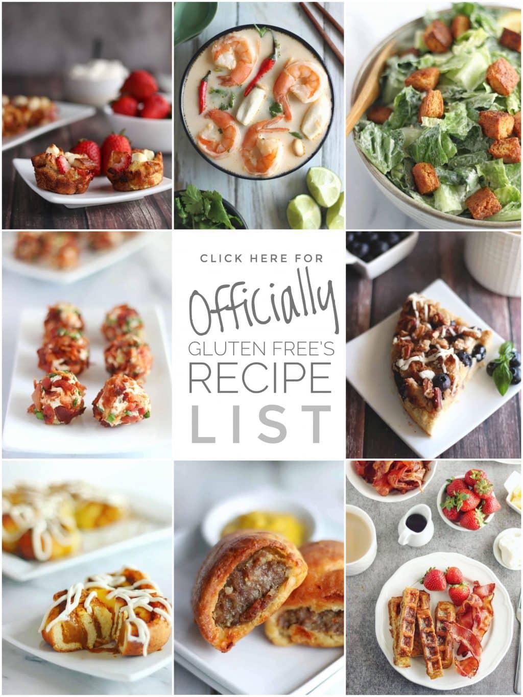 GF & Keto Recipe List