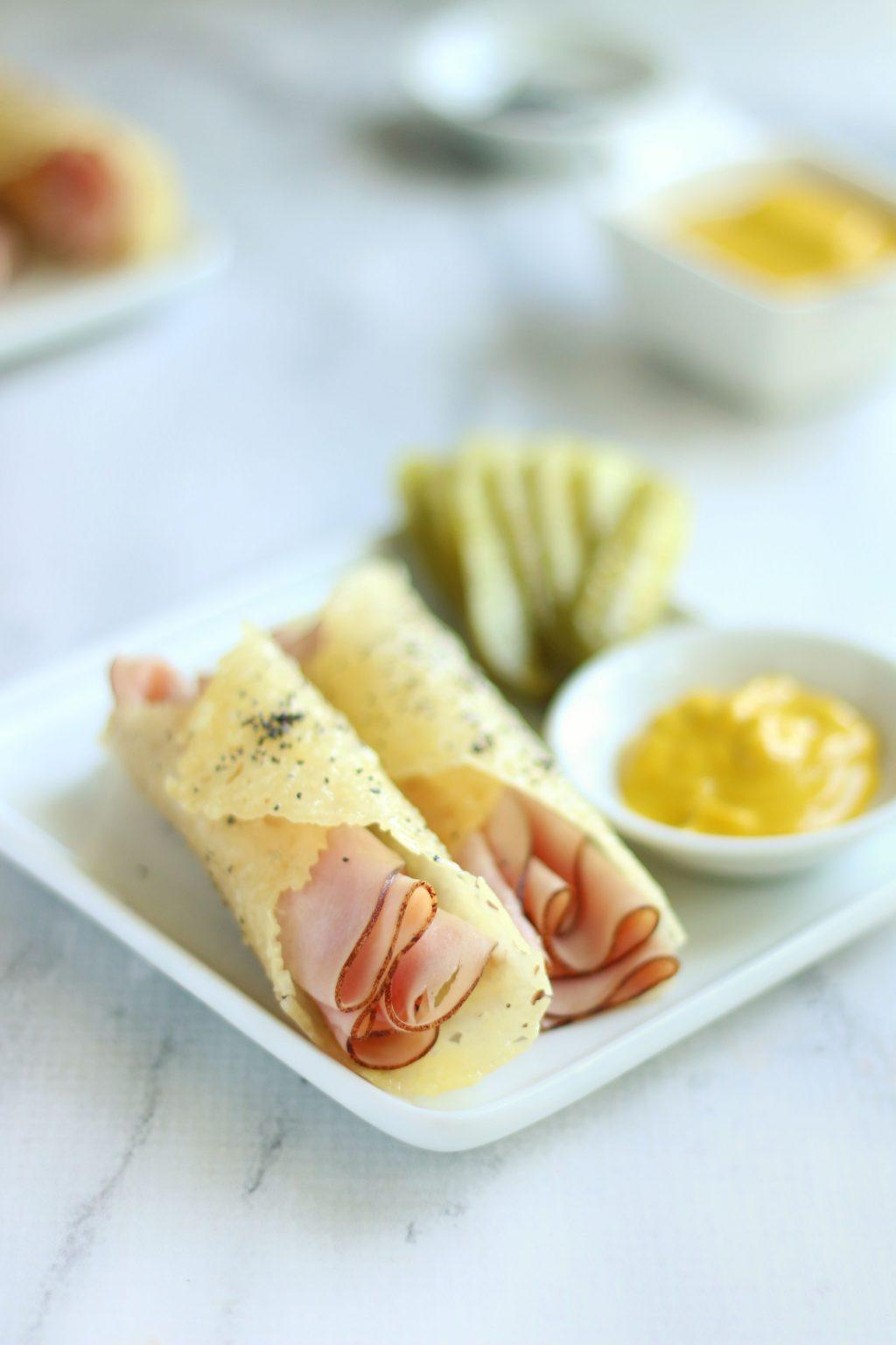 Keto Ham and Cheese Slider Rolls